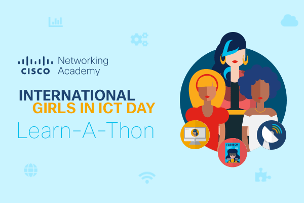 NetAcad Learn-A-Thon Banner mobile 2020