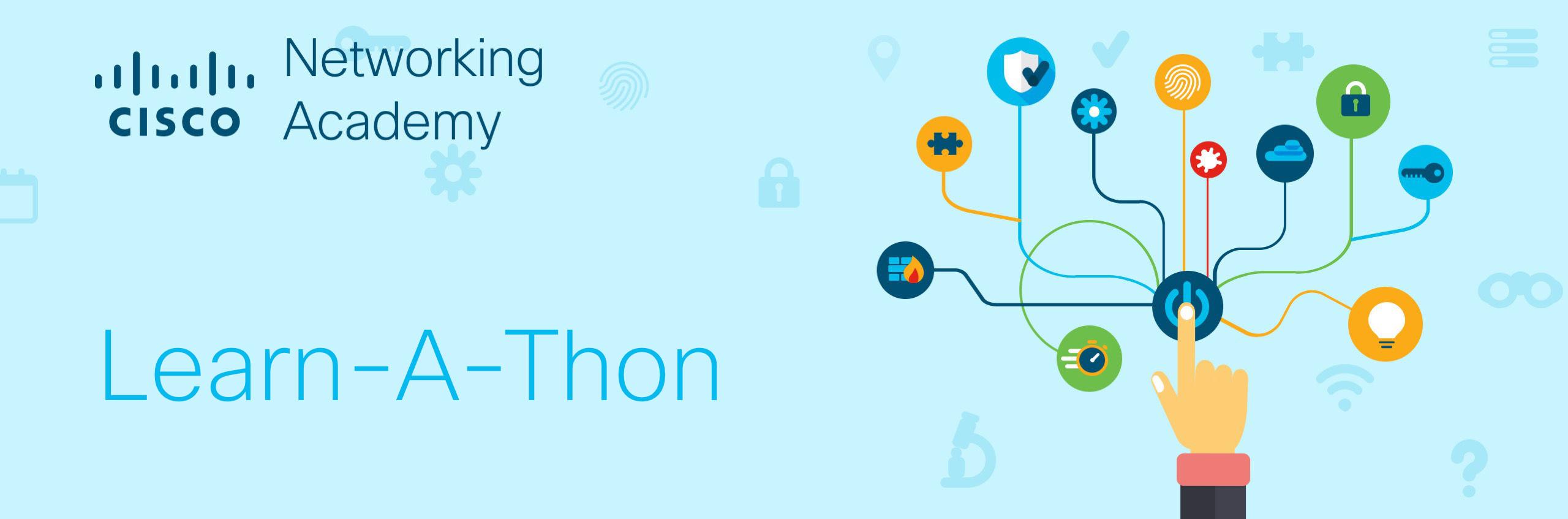 NetAcad Learn-A-Thon Banner 2020